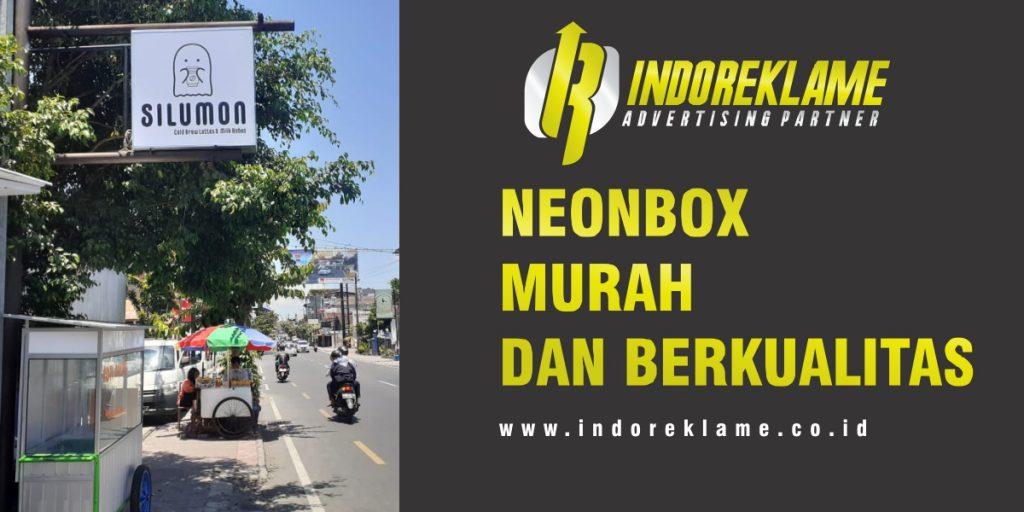 Neonbox murah di jawa tengah