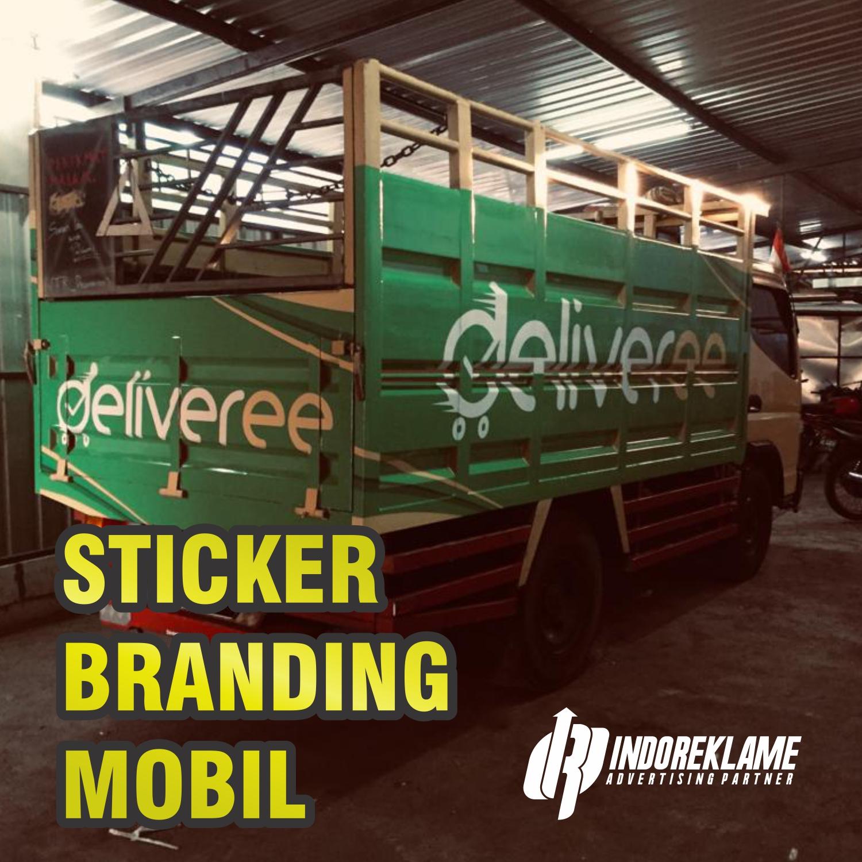 Jasa Sticker Branding Mobil