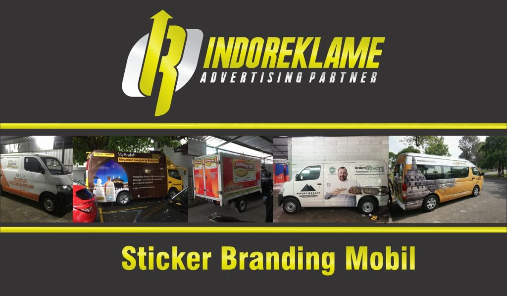 Sticker Branding Mobil Berkualitas
