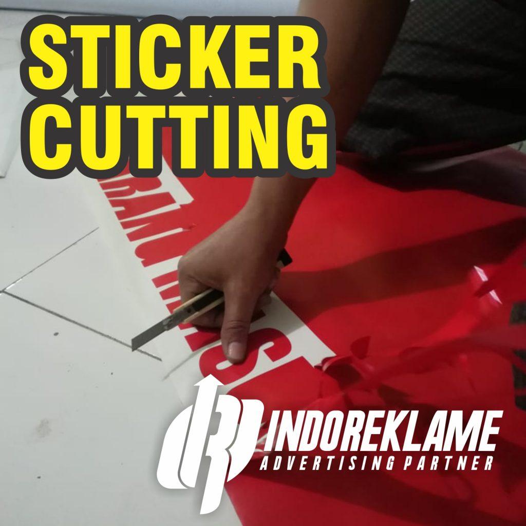 Jasa Pemasangan Sticker Cutting