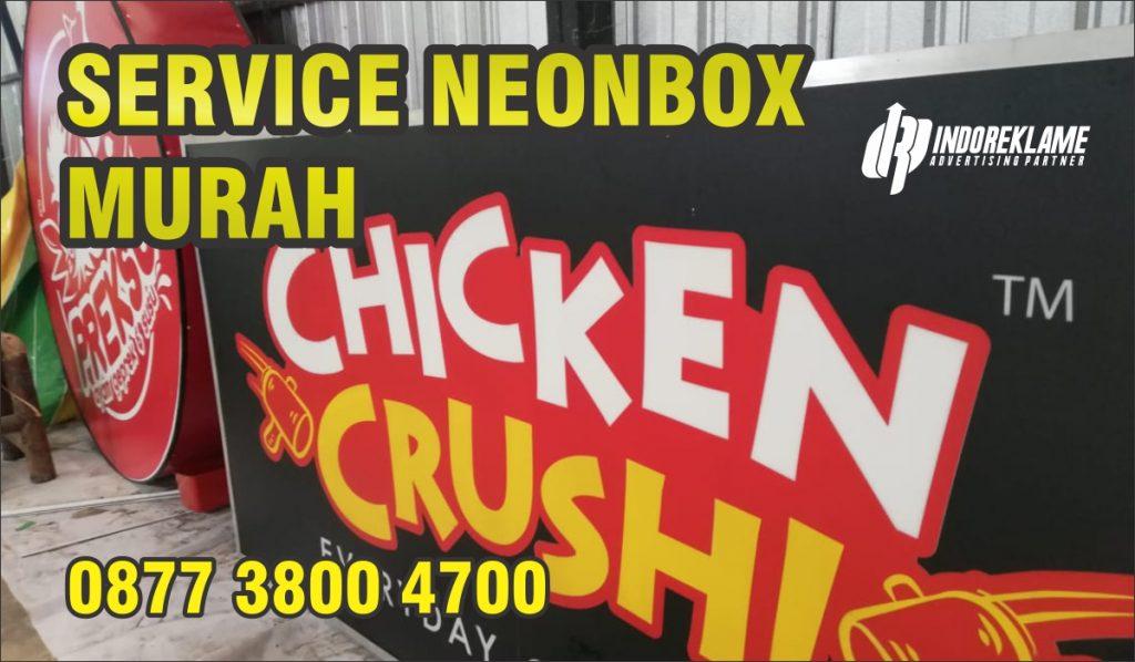 Service Neonbox Murah Jogja