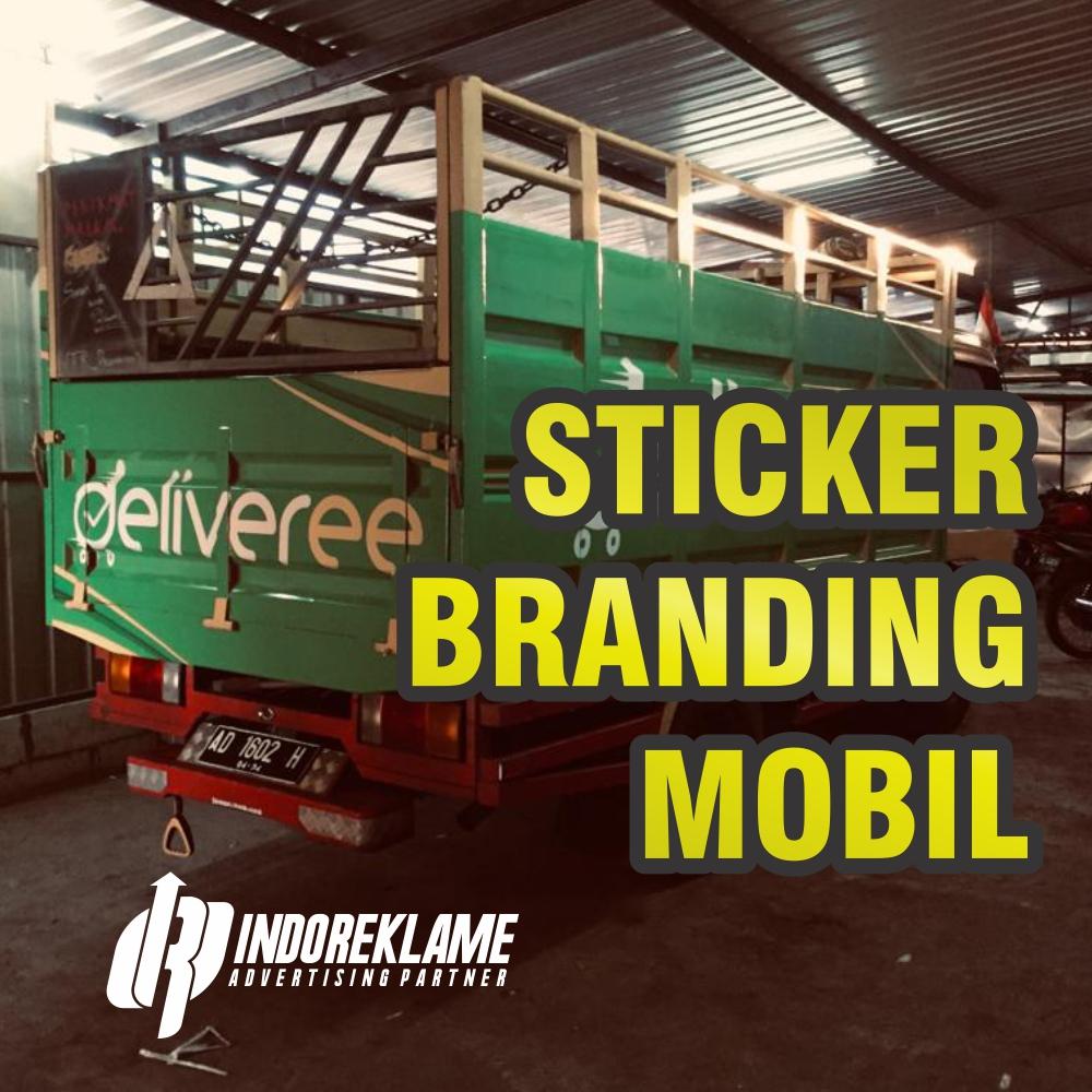 Sticker Branding Mobil