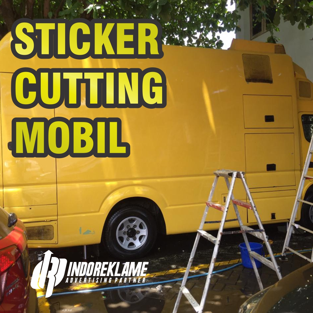 Sticker Cutting Mobil