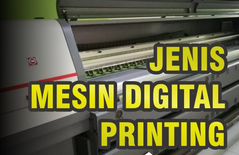 jenis mesin digital printing
