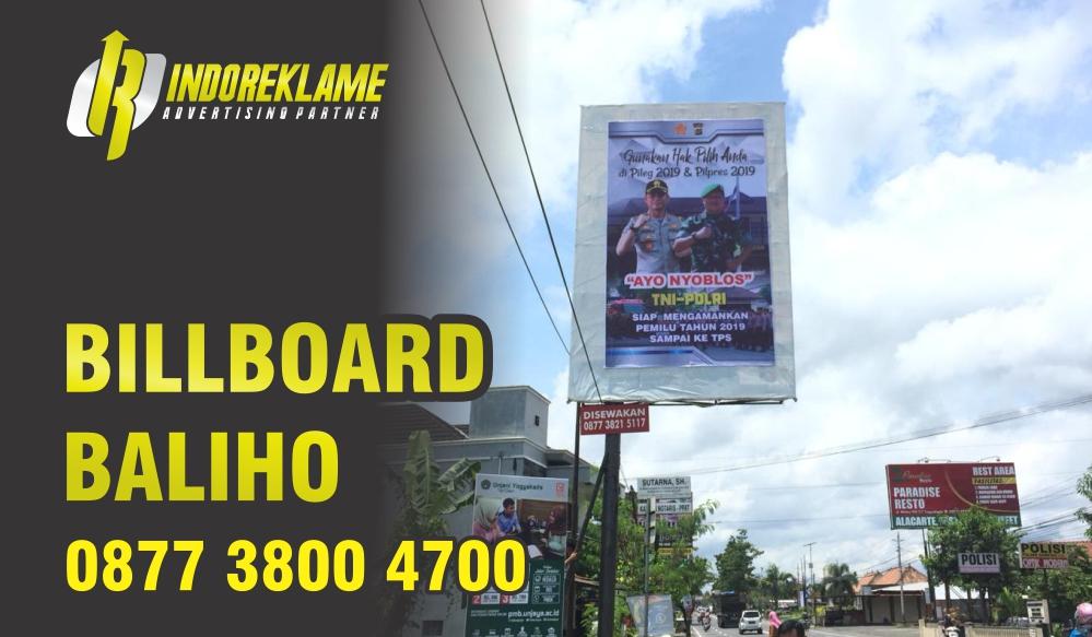 Pemasangan baliho dan billboard jogja