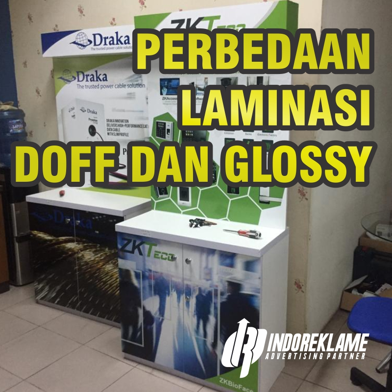 Perbedaan Laminasi Doff dan Glossy
