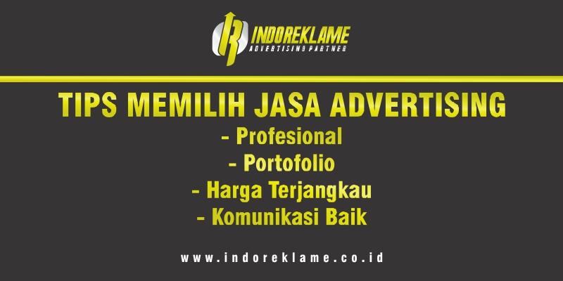Tips Memilih Jasa Advertising