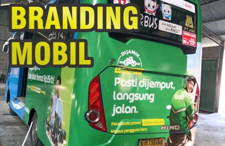Sticker Branding dan Car Wrapping