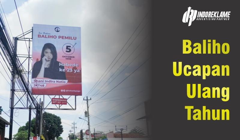 Billboard Ucapan Ulang Tahun